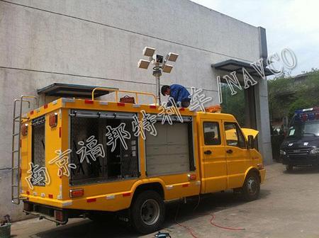 依维柯厢式抢险车,被广泛用于燃气抢险